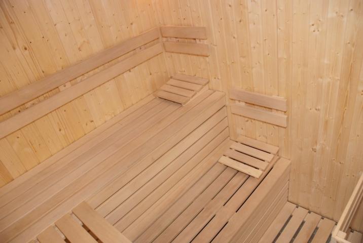 Wellness-fínska sauna
